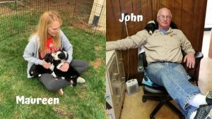 Maureen and John Reilly Big Times Kennel owners